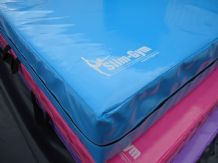 "8FT x 4FT 6"" x 10"" THICK (610gsm) Safety Matress Crash Mat (AQUA BLUE)"